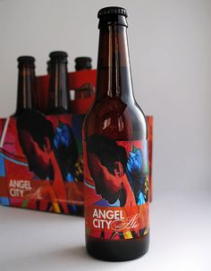 Angel City Brewery Packaging