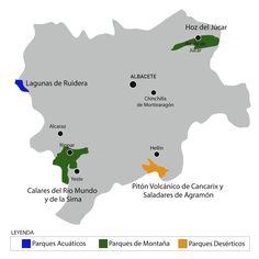 Disfruta el turismo activo en Albacete: practica senderismo, rutas de montaña, barranquismo, mountain bike, espeleología o piragüismo y descenso de cañones