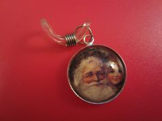 A round glass cabochon style knitting needle by KnittinginFrance, €3.00