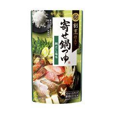 割烹仕立て 寄せ鍋つゆ <鯛だし塩味> - 食@新製品 - 『新製品』から食の今と明日を見る!