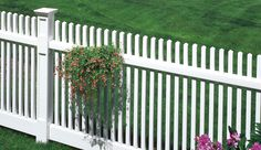 Manchester - Bufftech - Fence - Fence, Decking and Railing - CertainTeed Vinyl Picket Fence, Vinyl Fencing, Outdoor Living, Outdoor Decor, Fence Design, Garden Bridge, Manchester, Yard, Outdoor Structures