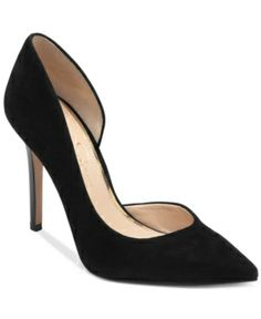 #Suede makes any #shoe look better, not that this @Jess Liu Simpson d'Orsay pump needs it. At $65, it's a FAB basic. WINNING is if you can scoop the elephant gray color (PERFECTION for spring)!!