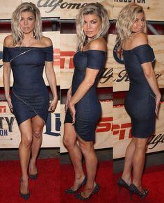 Fergie attending ESPN's The Party Houston on February 3, 2017.