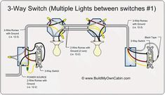 How to Wire Two Light Switches With 2 lights with One Power Supply  Way Switch Multiple Lights Wiring Diagram Step By on 4-way switch diagram multiple lights, 3-way switch wire colors, 3-way lighting diagram multiple lights, 3-way electrical wiring diagrams, 3-way switches, 3-way toggle guitar switch wiring diagram, 3-way 2 light wiring, 3-way circuit multiple lights, wiring recessed ceiling lights, 3-way switch two lights,