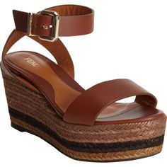 Fendi Espadrille Platform, so chic & you can actually walk in them comfortably!!!