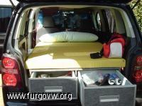 Mueble-cama vw Touran Volkswagen Touran, T5 California, Great American Road Trip, Day Van, Mini Camper, Camper Conversion, Camping Car, Happy Campers, Campervan