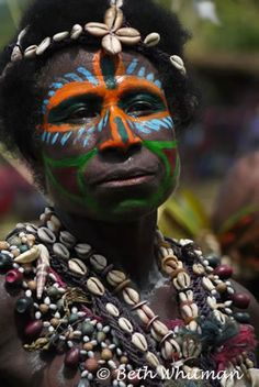 #Sepik #Woman פפואה גינאה החדשה www.papua-by-raz.co.il/papua