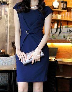 Professional Women Cotton Dress