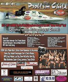 OPTIMA is proud to be a sponsor of the Problem Child Top Fuel drag boat- the quickest drag boat ever!