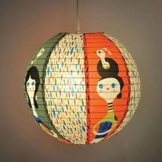 Blue Q - Design Papierlampe Lampenschirm Hängelampe - Little Visitor