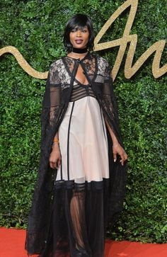 British Fashion Awards 2015 - Naomi