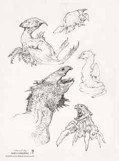 Mike Corriero || CHARACTER DESIGN REFERENCES | Find more at https://www.facebook.com/CharacterDesignReferences if you're looking for: #line #art #character #design #model #sheet #illustration #expressions #best #concept #animation #drawing #archive #library #reference #anatomy #traditional #draw #development #artist #pose #settei #gestures #how #to #tutorial #conceptart #modelsheet #cartoon #monster @Rachel Oberst Design References