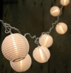 "3"" Brown Chinese Japanese Mini Paper Lanterns (10) Paper"