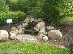 DIY Easy Backyard Water Feature | ... DIY Waterfall Kit 1200GPH Pump Pondless Water Feature Child Safe Easy