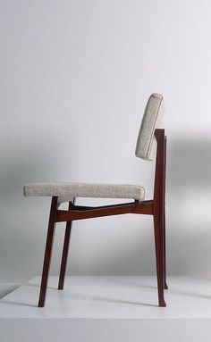 Franco Albini and Franca Helg; #SD9 Rosewood  'Luisella' Side Chair for Poggi, 1958.