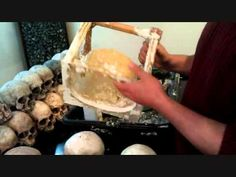 ▶ Skull Mold & Casting Props: Behind The Scenes - YouTube