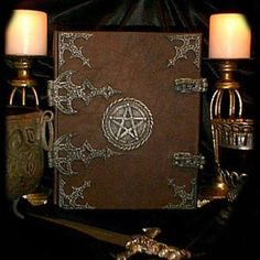 How To Make A Book Of Shadows...I actually made one for someone before. I did not make this though...