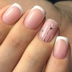 60 Stylish Nail Designs for Nail art is another huge fashion trend besides the stylish hairstyle, clothes and elegant makeup for women. Nowadays, there are many ways to have beautiful nails with bright colors, different patterns and styles. Classy Nails, Stylish Nails, Simple Nails, Cute Nails, Pretty Nails, My Nails, Classy Nail Designs, Nail Art Designs, Nails Design