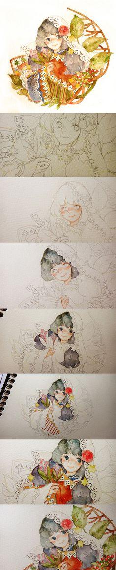 很早以前 - 作品 - 涂鸦王国