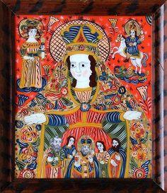 Art Icon, Folk Art, Frame, Painting, Decor, Saints, Altars, Picture Frame, Decoration