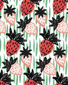Strawberries IV. by Kendra Dandy