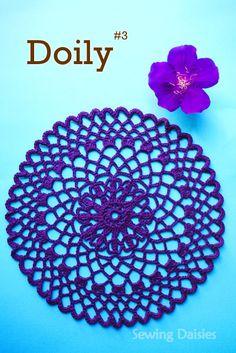 Doily & Mat Series: Doily #3