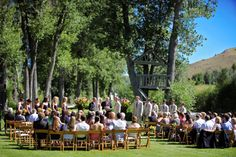 Brett and Ail Wedding, Sun Valley Idaho - wedding planning and floral design by Taylor'd Events