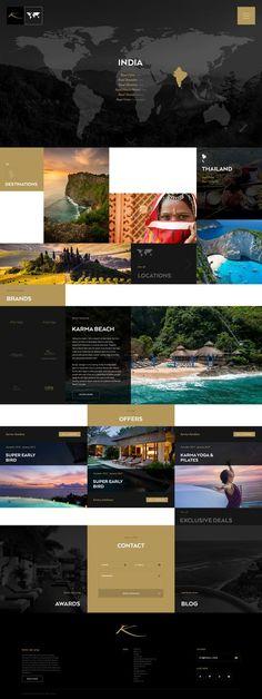 Z Travel And Insurance Fontana Blog Layout, Website Layout, Web Layout, Layout Design, Flat Web Design, Web Ui Design, Email Design, Grid Design, Design Design