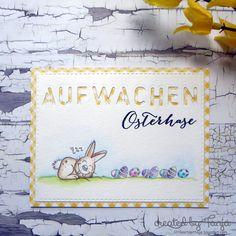 Wake up Easter Bunny Memories Box, Alphabet, Easter Bunny, Easter Card, Wake Up, Cardmaking, Blog, Winter Karten, Fun