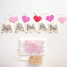 Sachets de thé bio Maman - Fête des mères : Cuisine et service de table par bioetrebelle