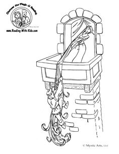 9 best Fairy Tale Coloring Pages images on Pinterest | Fairy tales ...