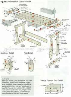 Classic Workbench Plans - Workshop Solutions