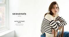 ZARA #zaraseasonals Sailor striped knit