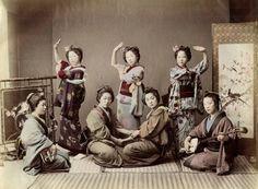 艺伎【日本,1870年代】