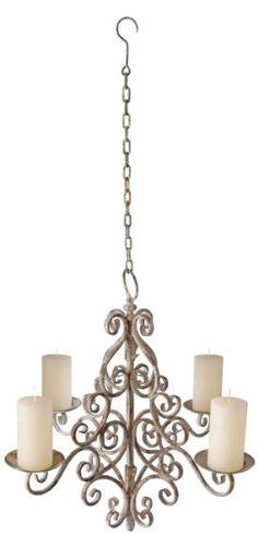 Esschert Design Aged Metal Chandelier for sale online Outdoor Chandelier, Candle Chandelier, Chandeliers, Outdoor Lighting, Outdoor Decor, Wabi Sabi, Esschert Design, Metal Lanterns, My Dream Home