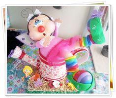 """ADORABLE""  ~Fofuchas~  3D Dolls 100% Foamie  ((3D Craft Foam Art))"