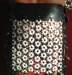 roman armor - achterpand rok gladiator met bijzonder ringen -vlechtwerk
