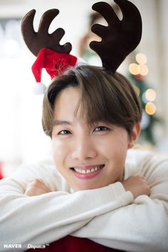 BTS J-Hope Christmas photoshoot by Naver x Dispatch /////