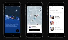 Uber Agrees to Buy Electric Bicycle-Sharing Startup Jump Bikes Iphone App Design, Electric Bicycle, Ui Design, Bike, Uber, Electric Push Bike, Bicycle, Bicycles, User Interface Design