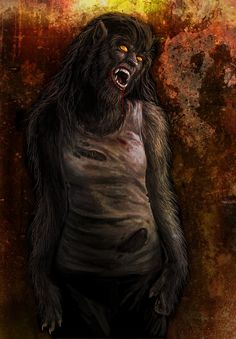 Werewolf Wednesday from a while back by Viergacht