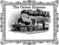 ORIENT - EXPRESS TRAIN.........SOURCE BING IMAGES........The Orient Express was blocked in 1929 by the snow in Turkey as he approached Constantinople and caused five days of delay. To survive, the travelers hunted and ate wolves, they even exchanged jewelery against eggs to survive. This adventure inspired Agatha Christie's novel Murder on the Orient Express.........