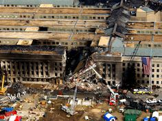 Full Size Picture Aerial view of the Pentagon during rescue operations post-September 11 attack. We Will Never Forget, Lest We Forget, Don't Forget, World Trade Center, Us History, American History, History Timeline, History Class, 11 September 2001