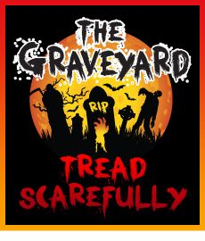 Tread Scarefully in The Graveyard at Frightwater Valley 2013.
