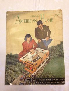 American Home Magazine March 1946 by sweetserendipityvint on Etsy, $8.50