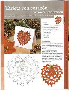 Herz Motiv häkeln - crochet motif