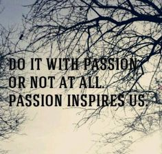 FeedsFloor's quote of the day! #b2b #passion #motto