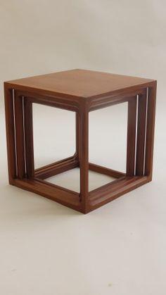http://www.decorativemodern.co.uk/decorativemodern/nest-of-teak-qube-tables-by-aksel-kjersgaard/ Aksel Kjersgaard Qube tables