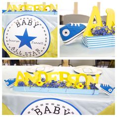Chucks and Ducks baby boy shower