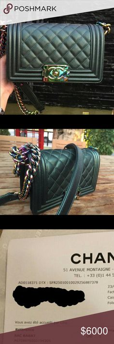 f4cacd7540bf Chanel 16C Iridescent Boy Ltd Edition Small Bag Sold out everywhere!  Limited Edition Chanel Boy