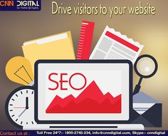 SEO drive visitors to your website.